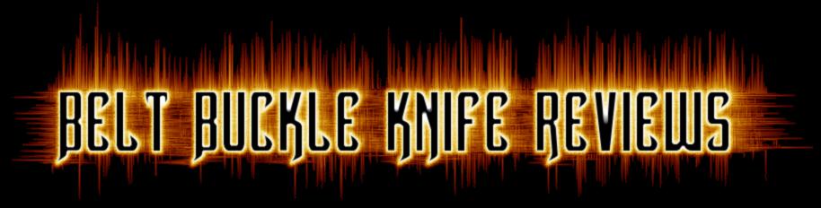 belt buckle knife reviews